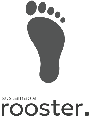 Logo sustainable rooster